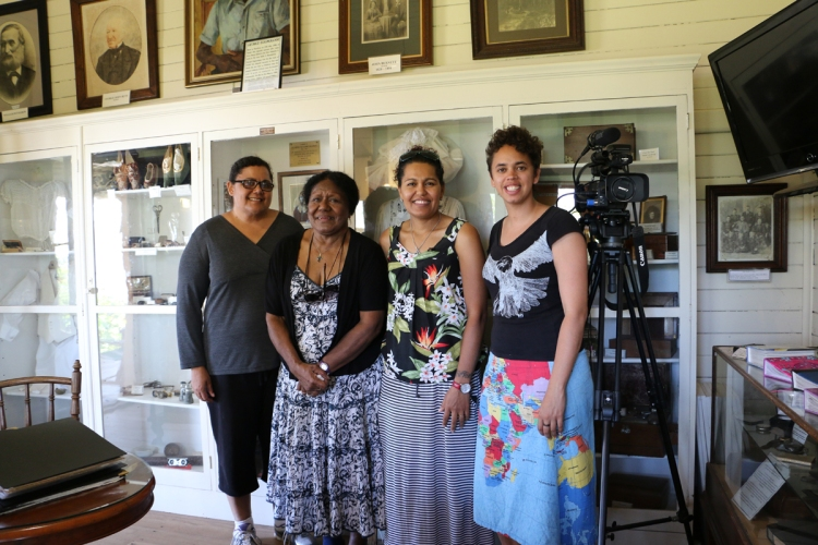 On location shooting Alison Edwards' ASSI Stories short film: Cultural Beginnings - Grassroots.