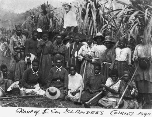 Group of women South Sea Islanders Cairns 1890